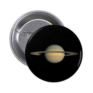 Saturn 6 Cm Round Badge