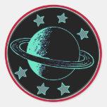 Saturn 6 - sticker