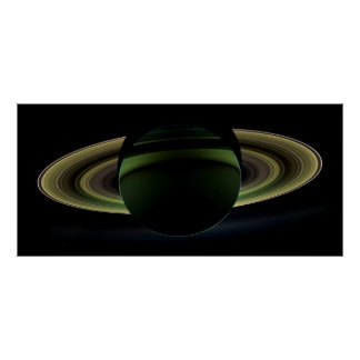 Saturn - A Splendor Seldom Seen Poster