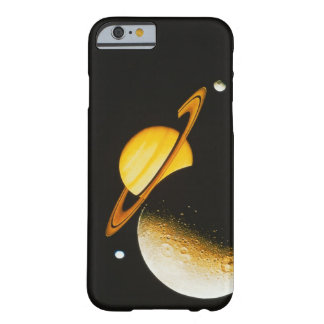Saturn and Her Moons Barely There iPhone 6 Case