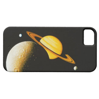 Saturn and Her Moons iPhone 5 Cases