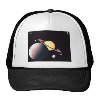 Saturn And Moons Hat
