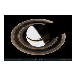 Saturn as Never Seen Before Poster