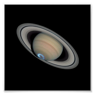 Saturn Aurora Posters