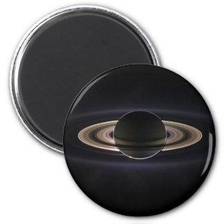 Saturn backlit magnet