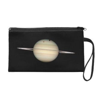 Saturn Wristlet Clutch