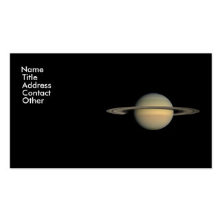 Saturn Business Cards
