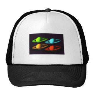 Saturn Collage Cap