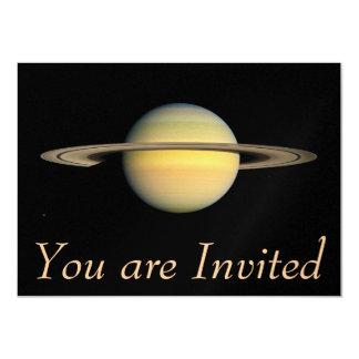 Saturn during Equinox 11 Cm X 16 Cm Invitation Card