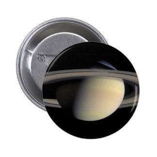 Saturn from Cassini To orbit 6 Cm Round Badge