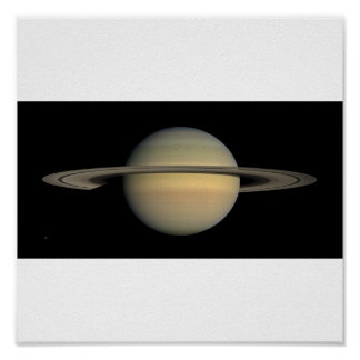 Saturn full view poster