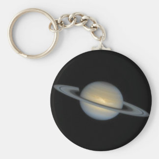 Saturn Hubble Basic Round Button Key Ring