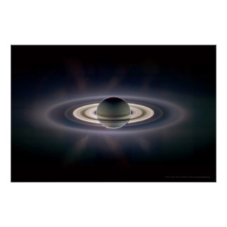 Saturn in Eclipse 18x12 (9x5) Poster
