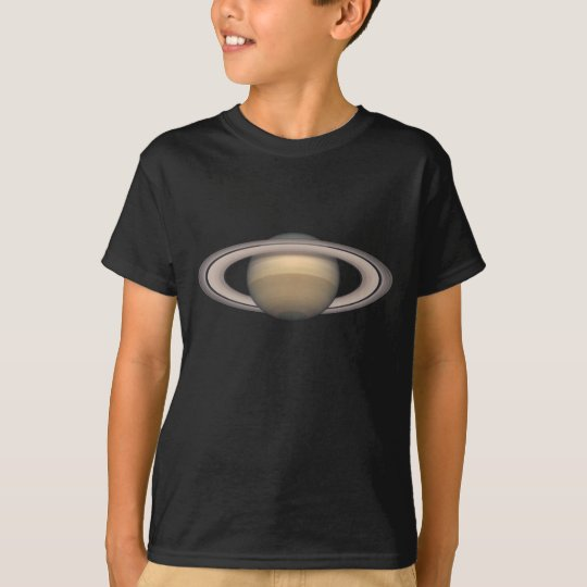 Saturn Kids Dark Space and Astronomy T-Shirt gift
