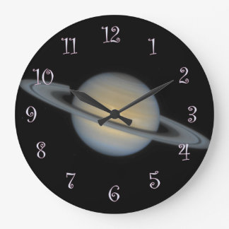 Saturn Large Clock