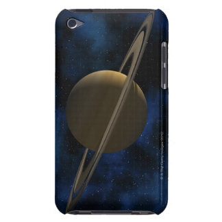 Saturn planet barely there iPod cases