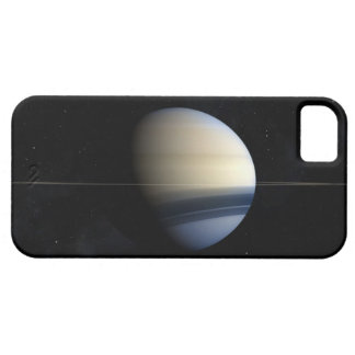 Saturn planet in solar system, close-up 2 barely there iPhone 5 case