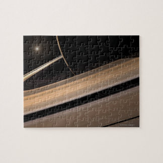 Saturn planet in solar system, close-up 3 jigsaw puzzle