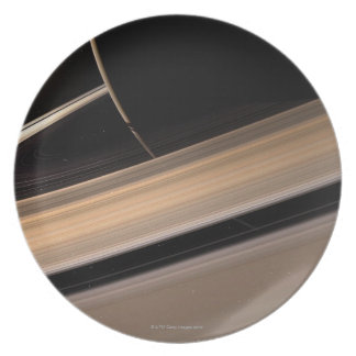 Saturn planet in solar system, close-up 3 plate