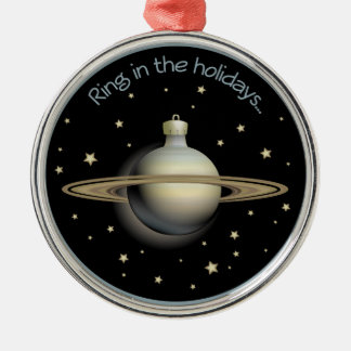 Saturn - Ring in the holidays Christmas Ornament