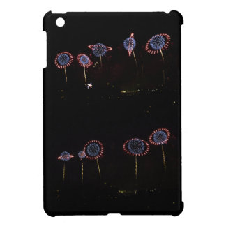 Saturn Rings Fireworks Double Cover For The iPad Mini