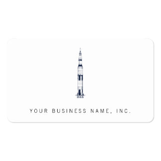 Saturn Rocket Pack Of Standard Business Cards