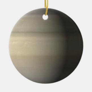 Saturn Round Ceramic Decoration