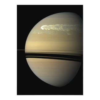 Saturn Storm 14 Cm X 19 Cm Invitation Card