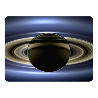 Saturn - The Day the Earth Smiled 17 Cm X 22 Cm Invitation Card