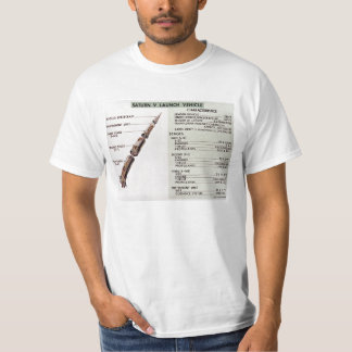 Saturn V diagram T-Shirt