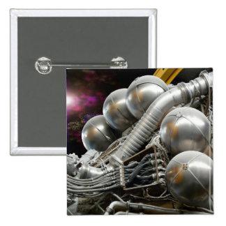 Saturn V Rocket Engine button