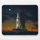 Saturn V rocket on the launch pad Mousemat