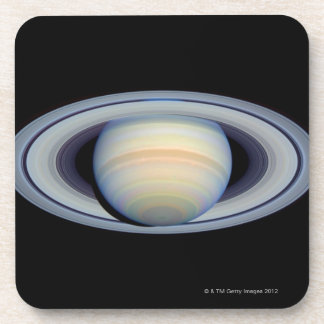 Saturn with rings at widest angle to Earth Coaster