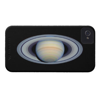 Saturn with rings at widest angle to Earth iPhone 4 Covers