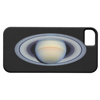 Saturn with rings at widest angle to Earth iPhone 5 Cases