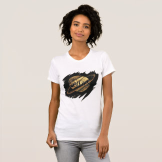 Saturn Womens T-Shirt
