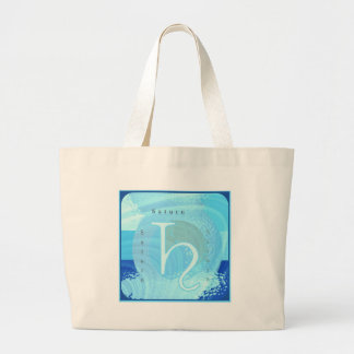Saturn Zodiac Astrology Design Canvas Bags