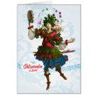 Saturnalia Bacchante Greeting Card