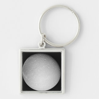 Saturn's moon Dione Key Ring