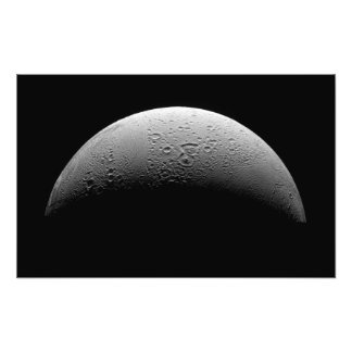 Saturn's moon Enceladus Photo Print