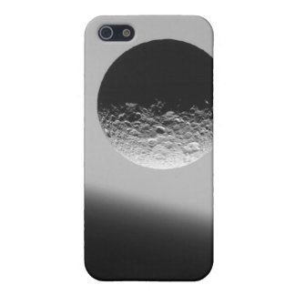 Saturn's moon Mimas iPhone 5 Cover