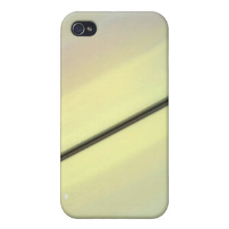 Saturn's Moons - Frame 4 iPhone 4 Covers