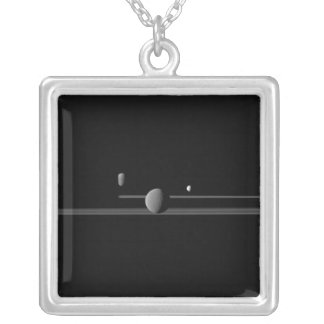 Saturn's Moons Necklace