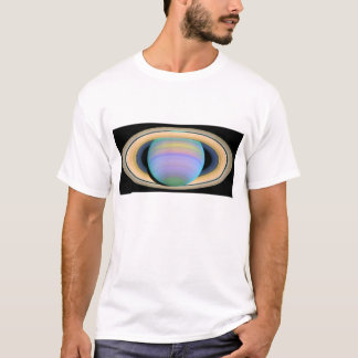 Saturn's Rings in Ultraviolet Light T-Shirt