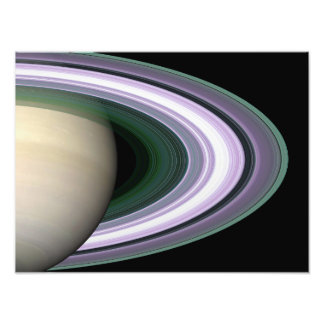 Saturn's Rings Photograph