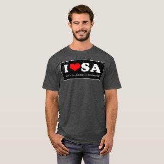 SATX POR VIDA I Love San Antonio T-Shirt