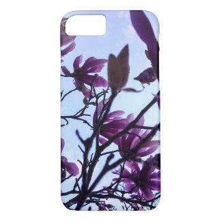 Saucer Magnolia Flowers iPhone Case