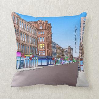 Sauchiehall Street Glasgow Cushion