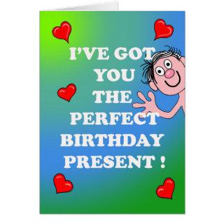 Saucy Birthday Card