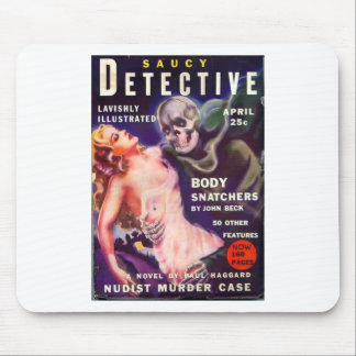 Saucy Detective Mouse Mat